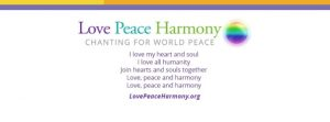 Love peace harmony banner